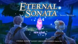 Eternal Sonata PS3 Demo Version Opening Screen