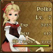 Polka Character Portrait