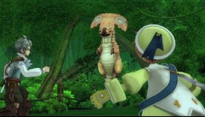 Baby Dragon Menaces Allegretto and Beat