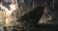 High Elven Ship