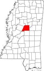 Mississippi-map-showing-Attala-County