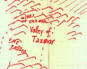 Tazmor map