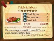 Stratum 5. Triple Salisbury
