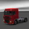 Daf xf paint milano red