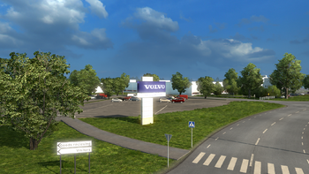 Volvo factory