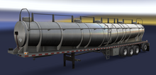 ATS Chemical Tank Long Trailer