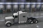 Peterbilt 389 Chrome Turbowing