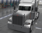 Peterbilt 389 Metal Deflector