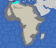 Algiers starting position in 1617