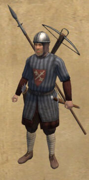Saxon Veteran Crossbow Militia