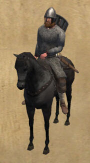 Saxon horseman