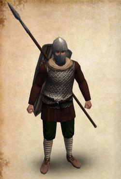 Castillian Veteran Spearman rural