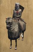 Santiago knight mounted