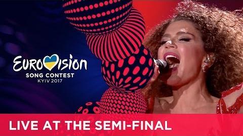 Tamara Gachechiladze - Keep The Faith (Georgia) LIVE at the first Semi-Final