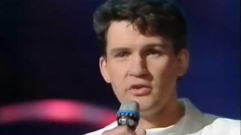 Eurovision 1987 Ireland - Johnny Logan - Hold me now