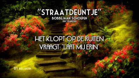 """01) BELGIUM """"Straatdeuntje"""" - Bobbejaan Schoepen (Lyrics) Eurovision 1957 HQ"""