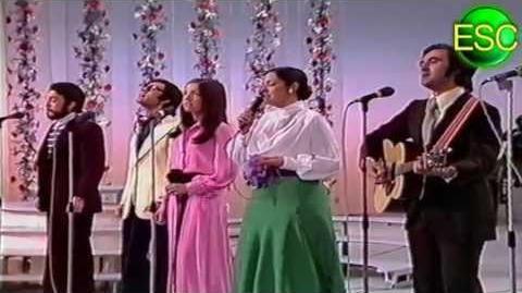 Eurovision 1973 - Spain - Mocedades - Eres tú