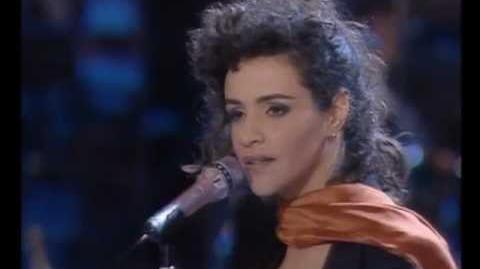 Eurovision 1991 - France - Amina - Le dernier qui a parlé..
