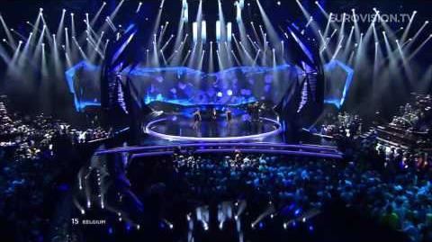 Roberto Bellarosa - Love Kills (Belgium) - LIVE - 2013 Semi-Final (1)
