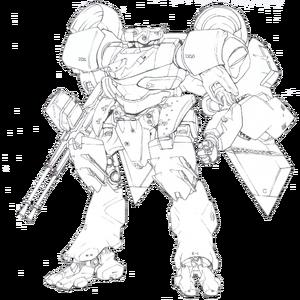 Strategic Defense Force Integrated Mechanic Soldier Type-4 Akashima.png