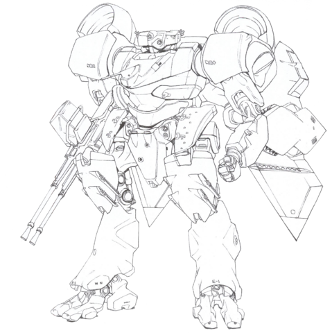 Fichier:Strategic Defense Force Integrated Mechanic Soldier Type-4 Akashima.png