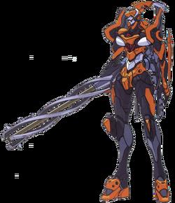 Evangelion Unit-0-0 Quatre (QR Signum)