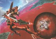 Evangelion Unit 02 vs The 7th Angel (Rebuild) Artwork