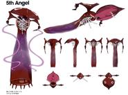 5th Angel 3D CG model (Rebuild)
