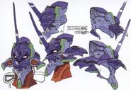 Super Evangelion's Head - Details