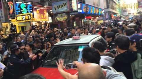 「愛港之聲」主席高達斌被市民擊退