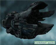 Proteus Gravitational Capacitor Back