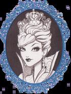 Melissa Yu book art - White Queen