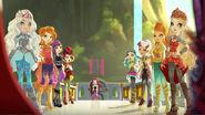 Dragon Games - teams view