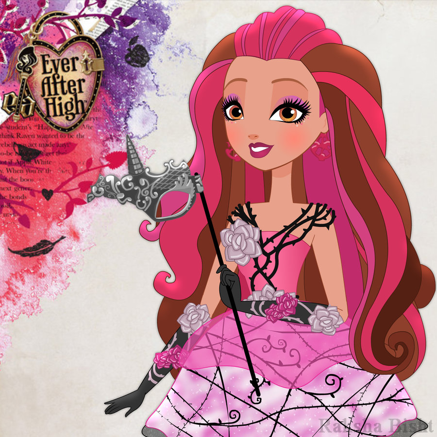Image - Briar beauty thronecoming by dreamycerise-d816e35 ... Ever After High Dolls Briar Beauty Thronecoming