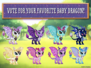 Facebook - Vote for your favorite baby dragon