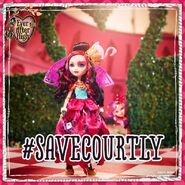 Facebook - Lizzie on saving Courtly
