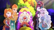 Dragon Games - girls bid Apple goodbye