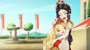 Dragon Games - reunion hug