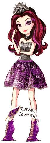 Archivo:Profile art - Basic Raven Queen.jpg