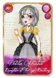 Ever after high odila character card by fireflowermaiden-d7820f5
