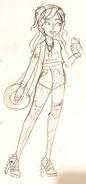 Chanson hound sketch