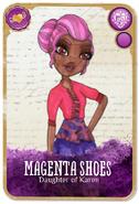 Magenta Rebel Card