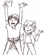 Draw ur brotp avvy and ten