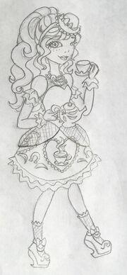 Gracie Hat-tastic Sketch