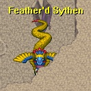 Feather'd sythen