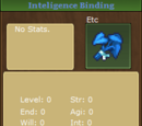 Intelligence Binding