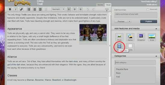 How-to-add-video-wikia