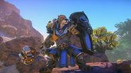 Kerra warrior in Ashfang