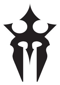 Thronehelm emblem