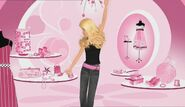 Dancing in a mall huh barbie